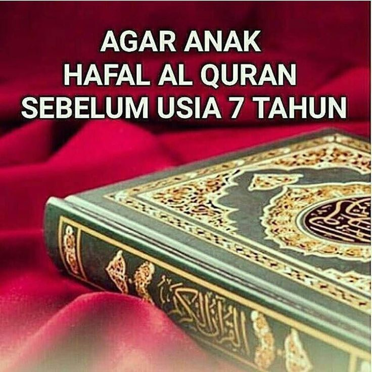 islam_madani - AGAR ANAK HAFAL AL QURAN SEBELUM USIA 7 TAHUN. . Saudaraku inilah kiat-kiat praktis mendidik putra-putri kita hafal Al Quran sebelum usia 7 tahun. . Kiat-kiat ini disampaikan oleh Syekh Dr. Kamil Al Labudi 29 Ramadhan 1437 H. . Kiat-kiat ini disampaikan beliau berdasarkan pengalaman beliau dalam mendidik ketiga putra/putri beliau hafal Al Quran 30 juz dalam usia 45 tahun. Semua putra/putri beliau hafal Al Quran 30 juz sebelum usia mereka 5 tahun. . 1. Tabarok hafal 30 juz…