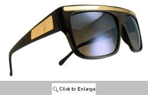 Mustang Vintage Sport Shields Sunglasses - 265 Brown Tones