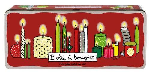 Boîte à bougies Mon petit musée de cire
