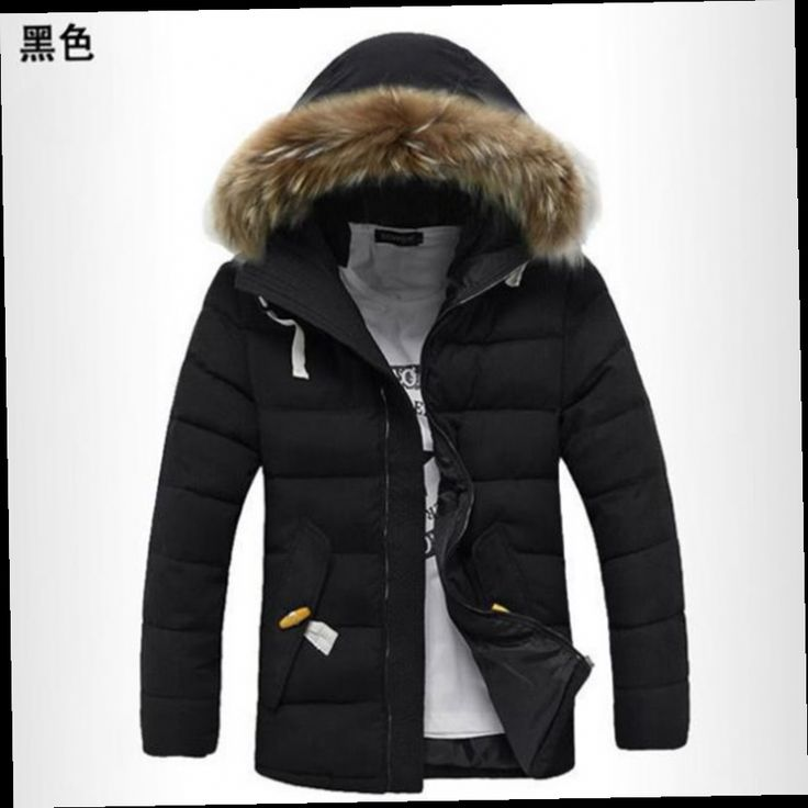 51.59$  Buy here - http://alih91.worldwells.pw/go.php?t=32754778042 - 2016 New Brand Men's Down Jacket Casual Solid Turn-dwon Collar Winter Jacket Men Fashion Overcoat Outerwear cotton free shipping 51.59$