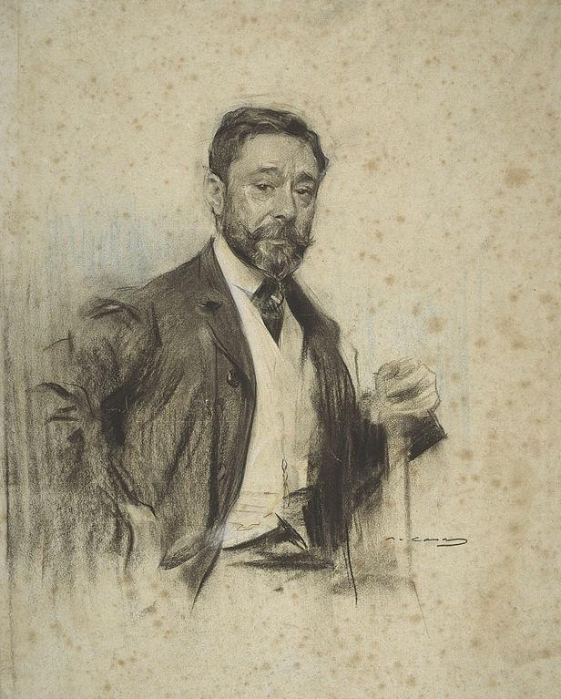 Gonzalo Bilbao visto por Ramon Casas (