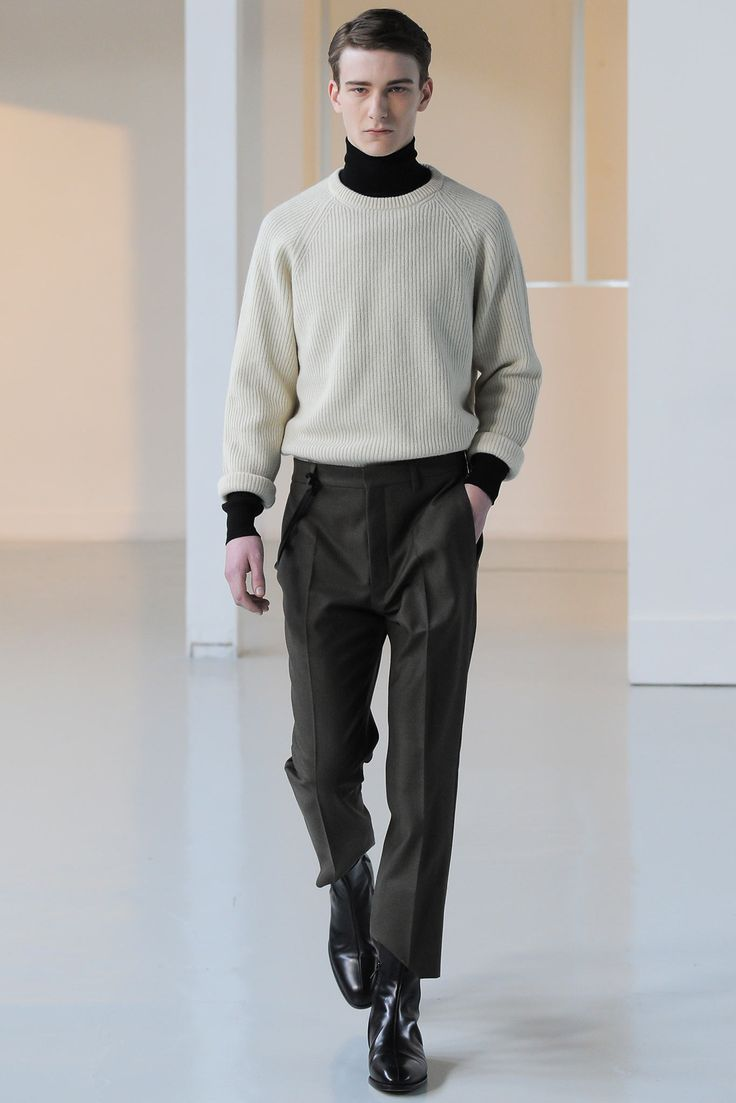 Lemaire - Fall 2015 Menswear - Look 5 of 30