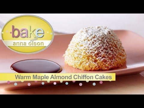 Bake with Anna Olson, recipes in this episode are listed below: - Angel food cake: 0:53 - Mini Lemon chiffon cakes with lemon crystal glaze: 6:31 - Warm appl...