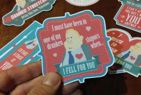 Give your special someone Rob Ford on Valentine's Day