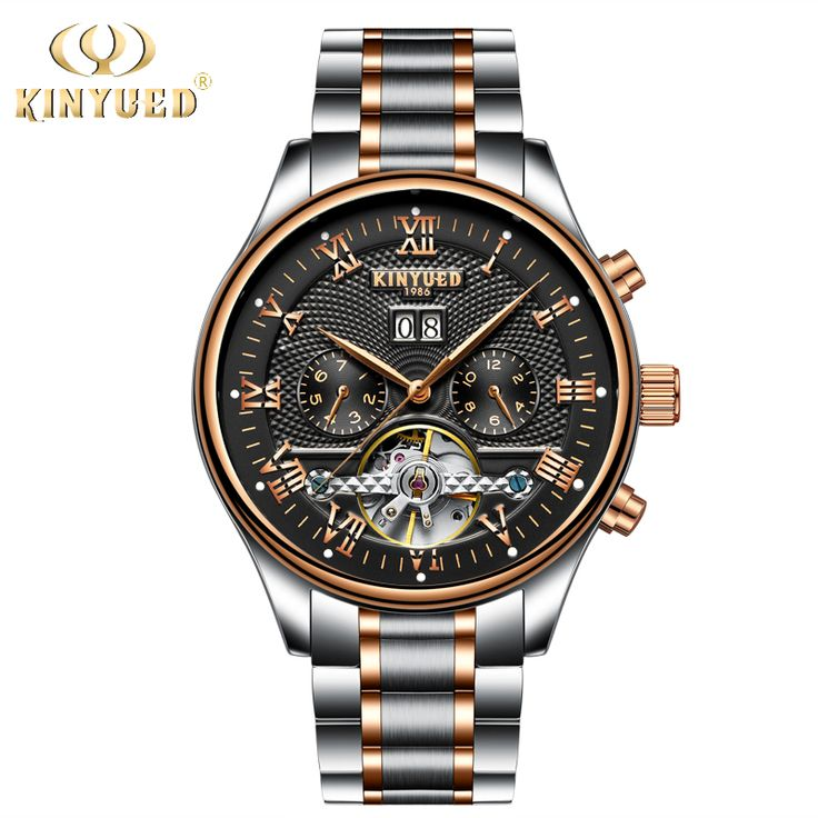KINYUED Skeleton Automatic Watch Men Waterproof Flying Tourbillon Mechanical Watches Mens Self Winding Horloges Mannen Dropship //Price: $3642.00 & FREE Shipping //     #rolex