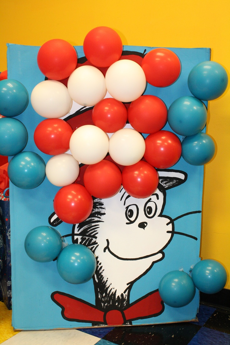 Gmail birthday theme - Cat In The Hat Party Decoration Balloon Popping Game Now Available For Sale Kid Birthday Partiesthird Birthdaytheme
