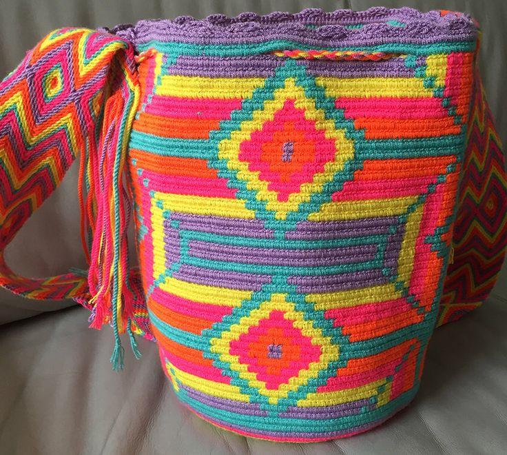 A personal favorite from my Etsy shop https://www.etsy.com/listing/224604610/wayuu-bag-mochila-hand-woven-ship