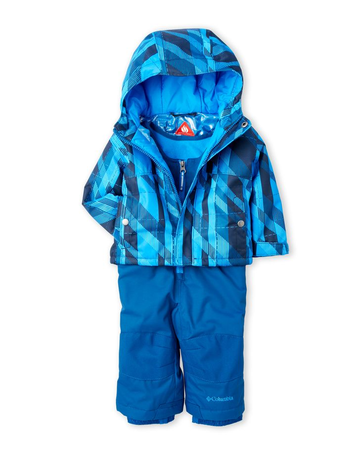 Columbia (Infant Boys) Two-Piece Hooded Jacket & Snowsuit Set