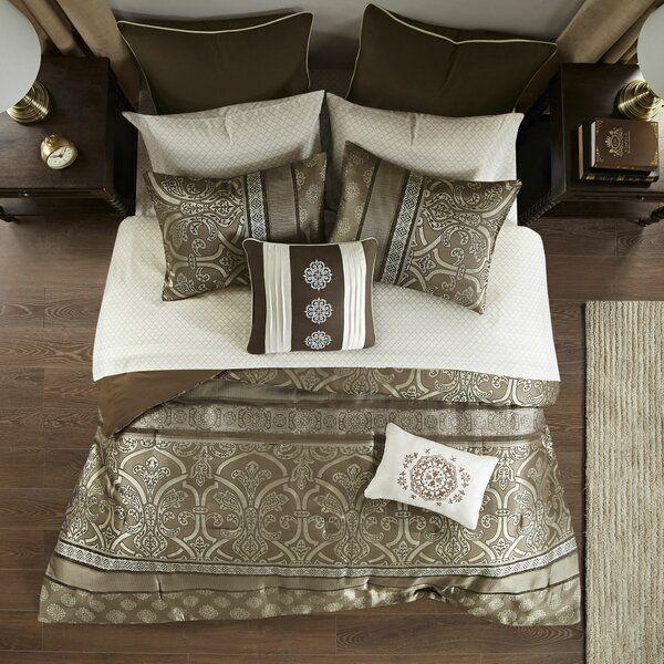 Evan 4 Piece Comforter Set Nanshing