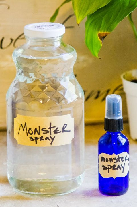 DIY Monster Spray with just four easy ingredients - Plus, it doubles as a linen spray and bug bite remedy!