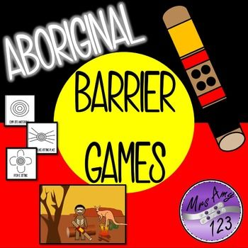 Aboriginal Barrier Games- Great for NAIDOC Week!