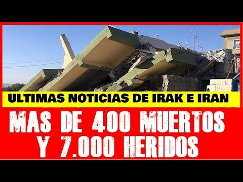 """ALCAVISION """"La Televisión del Futuro"""": ULTIMAS NOTICIAS DEL TERREMOTO EN IRAN E IRAK HOY ..."""