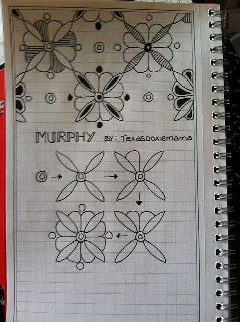 Murphy - zentangle....I like to doodle :)
