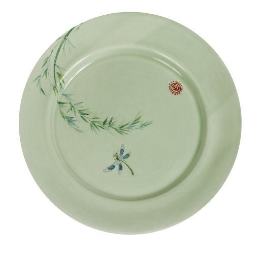 Ceramic Insect and Bamboo Plate - Shop Laboratorio Paravicini online at Artemest