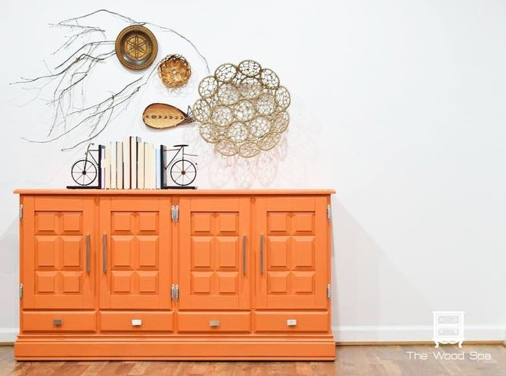 Best Orange Painted Furniture Images On Pinterest Painted Furniture Paint And Painted Dressers