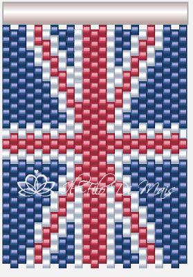 Il filo di mais di Chiara Gloria e Daniela: Schema bandiera inglese
