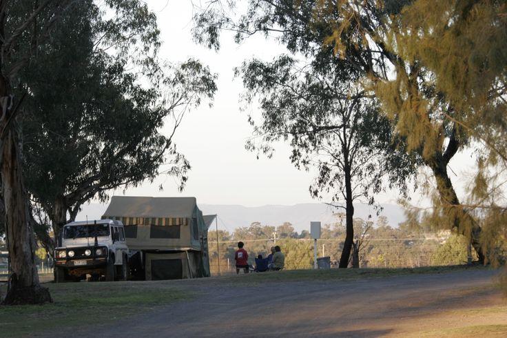 Kahlers Oasis Caravan Park Unpowered Campsite