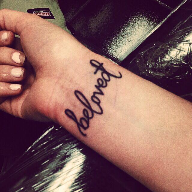 Beloved† tattoo