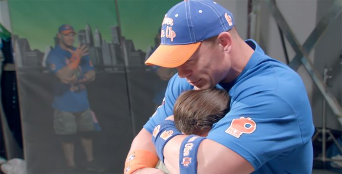 Video: John Cena Becomes Emotional In Front of Fans
