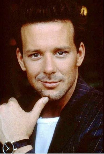 Mickey Rourke. when he was a pretty boy