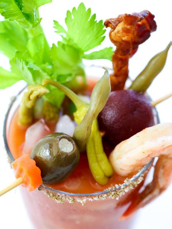 Best Bloody Mary Recipe on foodiecrush.com