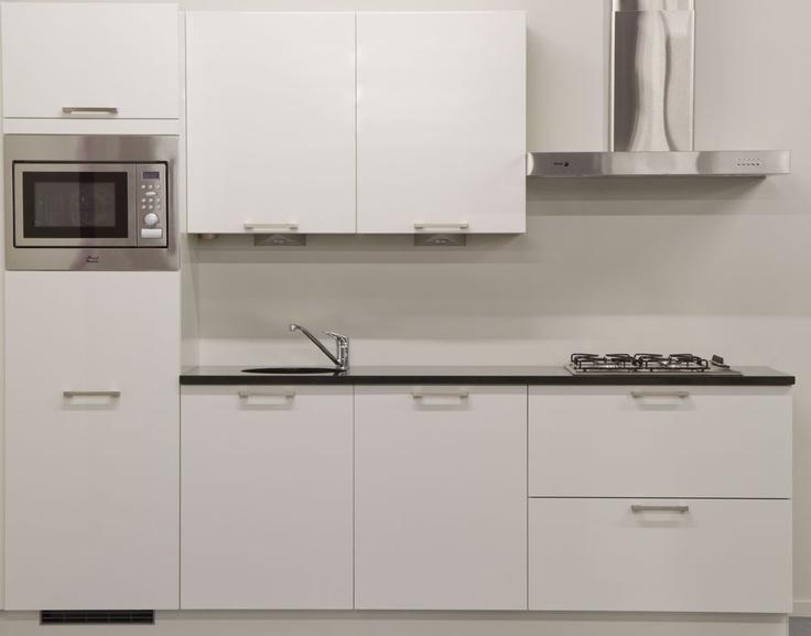 Goedkope Rechte Keukens Landelijk : 25+ beste ideeën over Witte Granieten Keuken op Pinterest