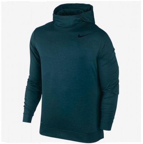 Nike Men's Dry LtWght Hoodie Training Running LS Turquoise Shirt XL 800205-364 #Nike #ShirtsTops