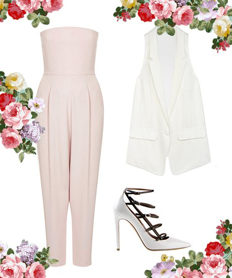 What To Wear To ANY Outdoor Wedding #refinery29  http://www.refinery29.com/outdoor-wedding-outfits
