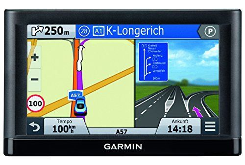Garmin nüvi 55 LMT CE – GPS Auto écran 5 pouces – Info Trafic et carte (22 pays) gratuits à vie: Le nüvi 55LMT est facile à utiliser grâce…