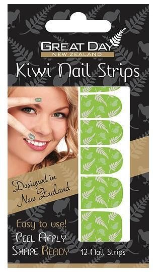 Green NZ Silver Fern and Kiwi Nail Strips http://www.shopenzed.com/green-nz-silver-fern-and-kiwi-nail-strips-xidp913598.html