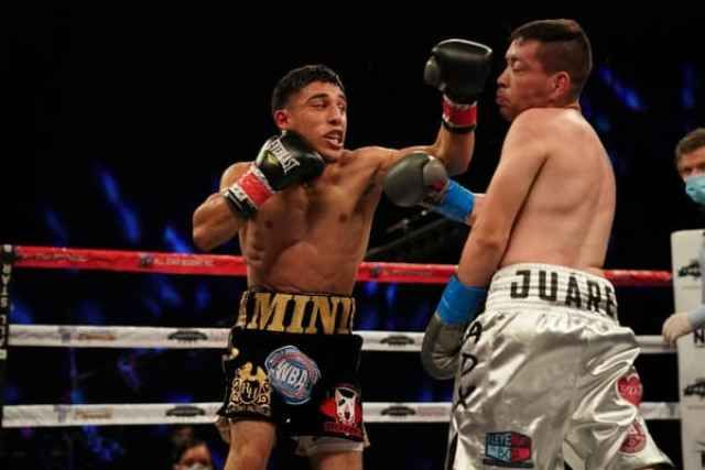 Mini Aragon Dominates Baby Juarez In 2020 Juarez Kissimmee Boxing News
