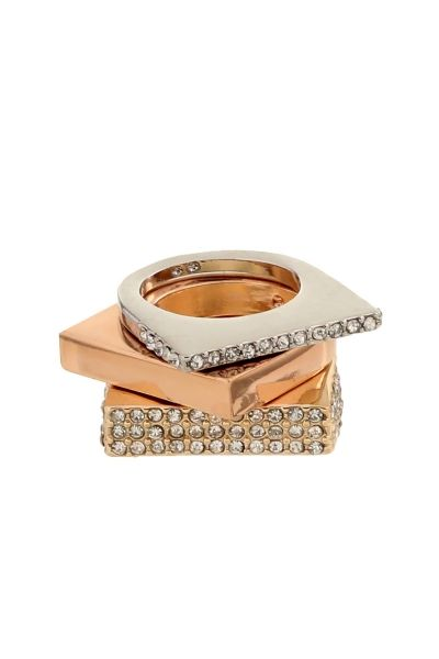Gold Studded rings