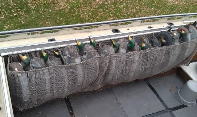 gunnel decoy bags