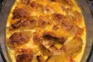 Kycklingfile med mangotäcke