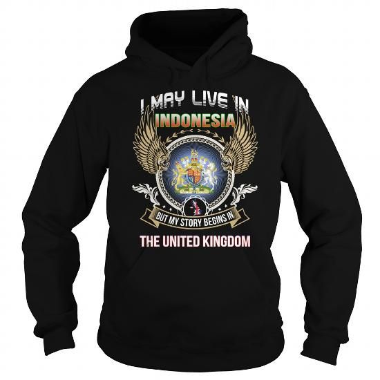 Indonesia-The united Kingdom - #cool gift #hostess gift.  Indonesia-The united Kingdom, husband gift,hoodies/jackets. LIMITED TIME =>...