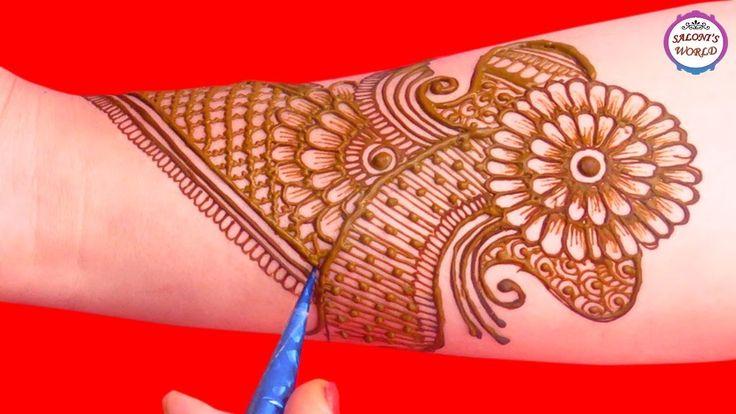Stylish Full Hand Arabic Henna Designs | Henna Tattoo | Mehndi Designs T...