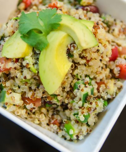 Vegetable Bounty Salad: Healthier Salad, Asian Salad, Bounty Quinoa, Vegetables Bounty, Vegetables Quinoa, Asian Quinoa Salad, Quinoa Asian, Bounty Salad, Vegetables Salad