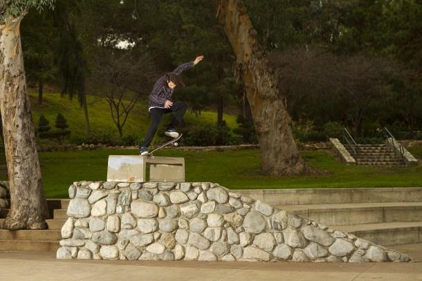 Skater: Stefan Janoski Trick: Switch Crooked Grind Location: Los Angeles Year: 2011 Photographer: Jeremy Adams
