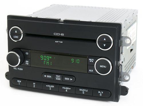 Ford Taurus Mercury Sable 08-09 Audiophile Radio AM FM 6 Disc CD 8G1T-18C815-DA