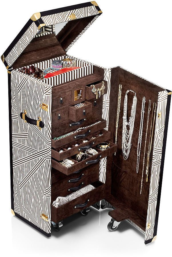 For the girl who has everything - Henri Bendel Jewelry Trunk