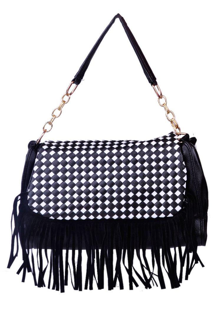 #Shoulderbag with #fringes Take a look at Misstella! http://www.misstella.com