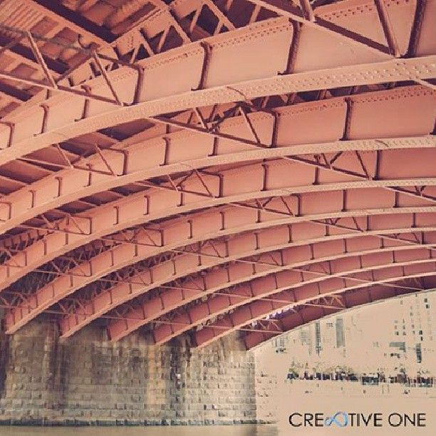 Under the #bridge