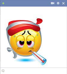 Si vous êtes à la maison et recroquevillé dans son lit la lutte contre un mauvais bug, vous pouvez laisser tout le monde sait sur Facebook comment vous vous sentez.