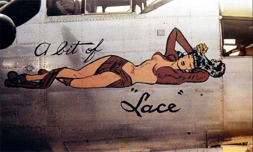 20th-century-man: WW II nose art.