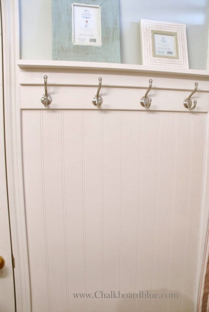 For The Long Wall In The Bath Tall Wainscoting With