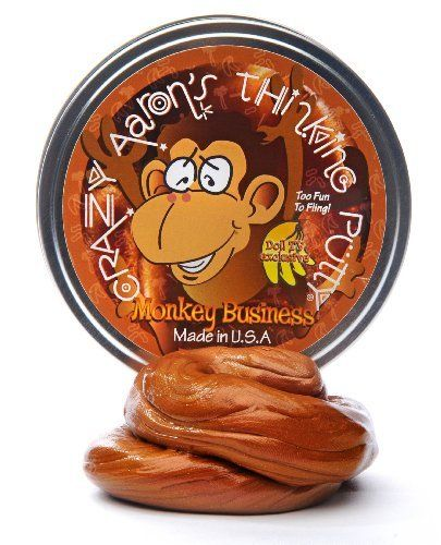 "Monkey Business Crazy Aaron's Thinking Putty ""Too Fun to Fling!"" by Crazy Aaron's, http://www.amazon.com/dp/B00ADQ3H0G/ref=cm_sw_r_pi_dp_nrZfrb0JAS9SC"
