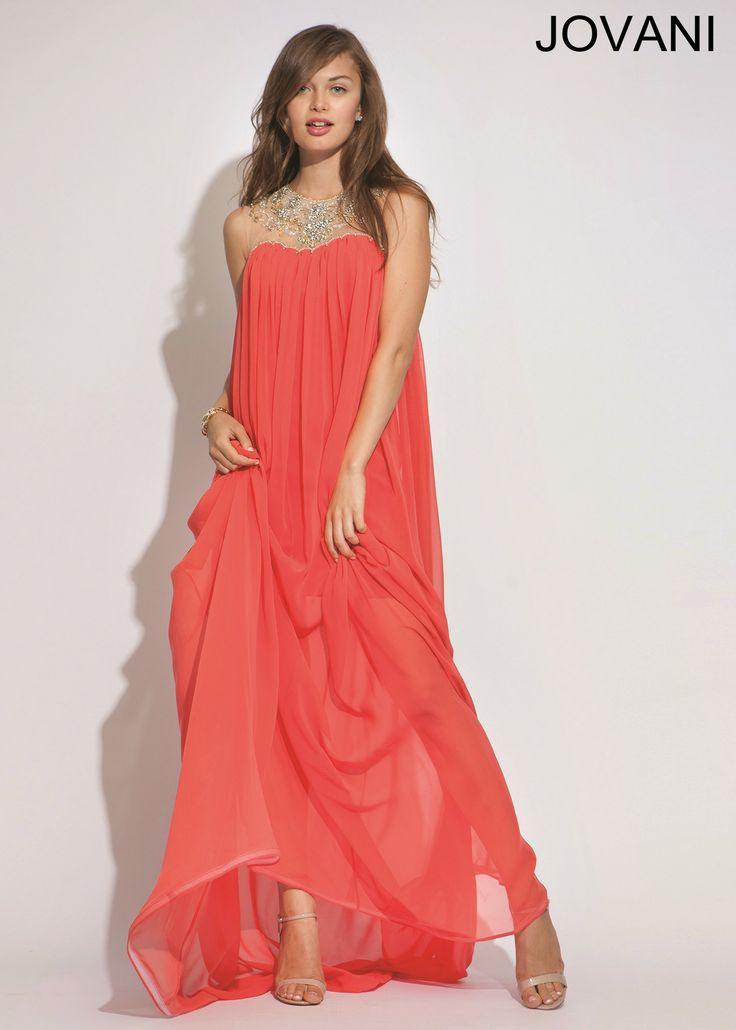 Jovani 90716 Chiffon Evening Gown
