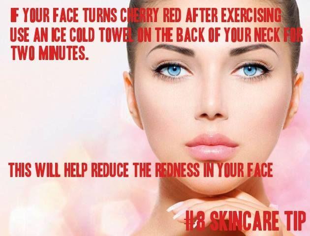 Συμβουλή Ομορφιάς!!  Αν το πρόσωπό σας κοκκινίζει μετά την άσκηση, δοκιμάστε να βάλετε μια παγωμένη πετσέτα στο πίσω μέρος του λαιμού σας για 2 λεπτά. Αυτό θα μειώσει την ερυθρότητα από το πρόσωπό σας.  Εδώ θα βρείτε περισσότερα προϊόντα περιποίησης δέρματος: http://gr.strawberrynet.com/skincare/  #skincare #tipoftheday #beautyguide #beautytips