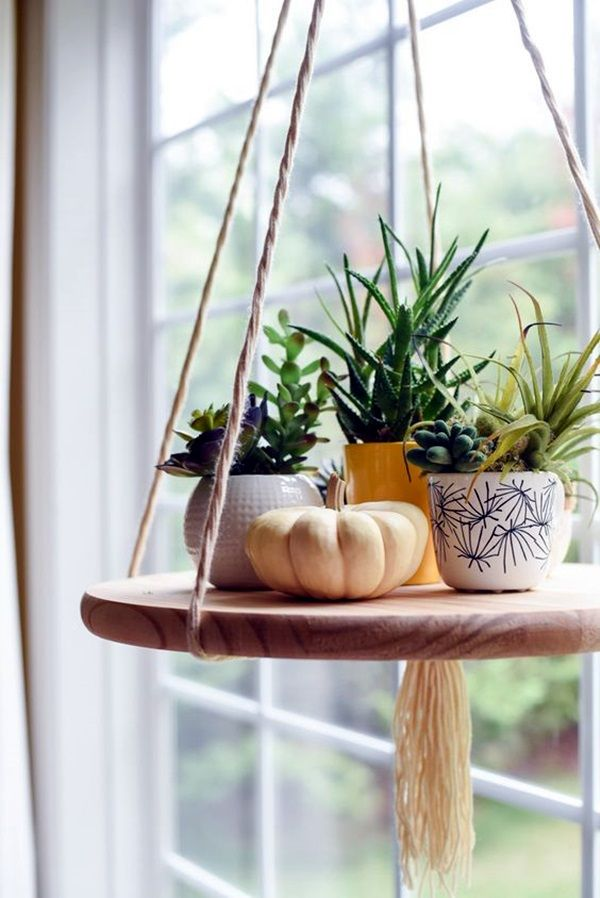 Elegant DIY Hanging Planter Ideas For Indoors (16)