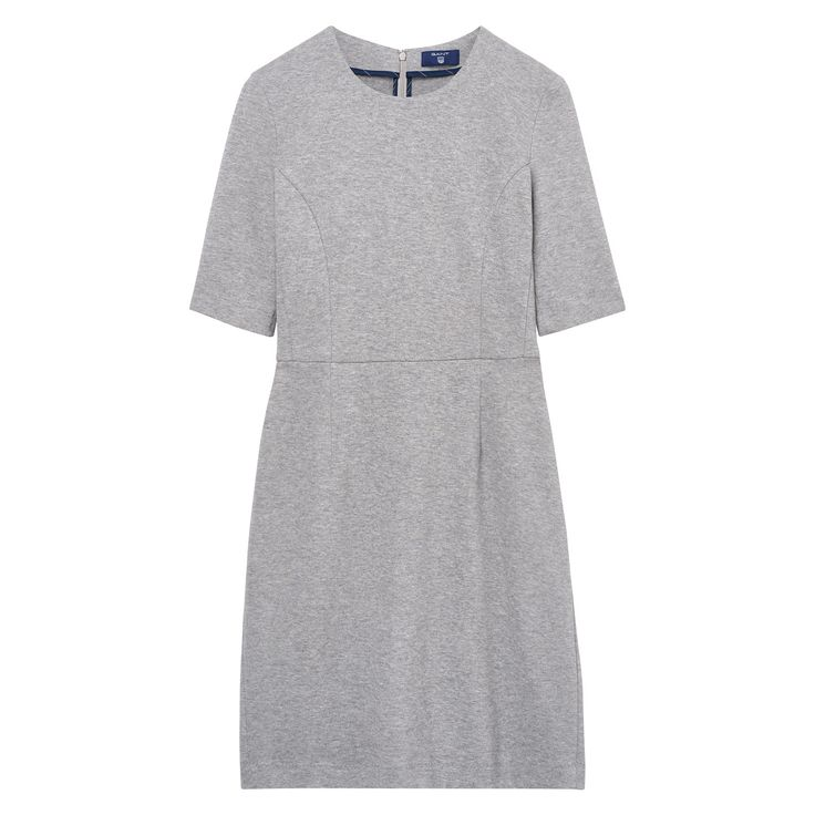 GANT Damen Jersey Piqué Stretchkleid (44) Grau Jetzt bestellen unter: https://mode.ladendirekt.de/damen/bekleidung/kleider/sonstige-kleider/?uid=0af7586a-c50f-5616-8553-ef36f060401a&utm_source=pinterest&utm_medium=pin&utm_campaign=boards #sonstigekleider #kleider #bekleidung #women